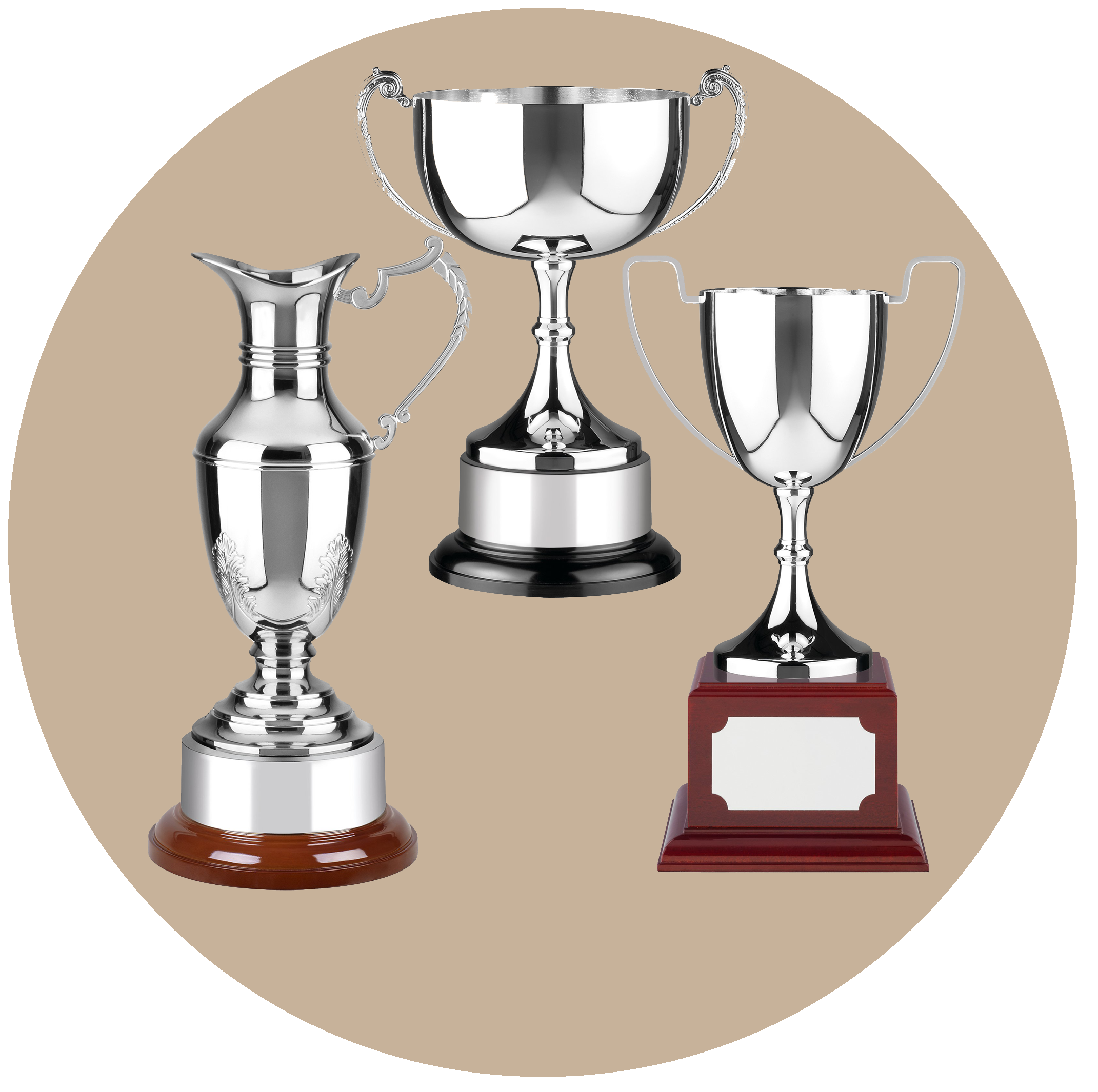 Silver Cups & Trophies
